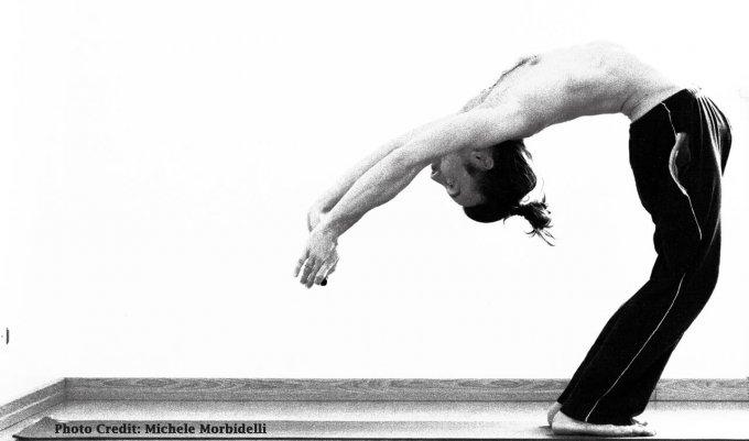 Posizione Yoga Back Bending Drop Back & Chakrasana