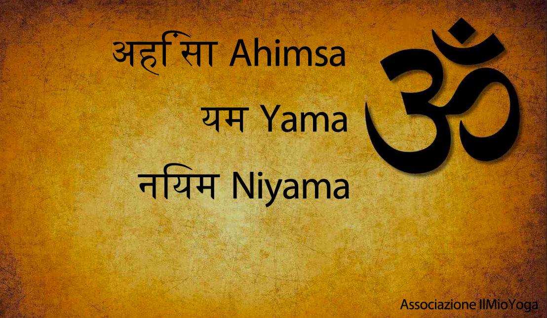 ahimsa yama niyama image